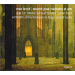Bruch: Works For Clarinet And Viola (CD)