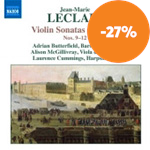 Leclair: Violin Sonatas Book 1 (CD)