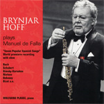 Brynjar Hoff Plays Manuel De Falla (CD)