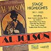 Al Jolson Vol. 1 - Stage Highlights 1911-1925 (CD)