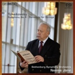 Tchaikovsky: Symphony No 4; Serenade for Strings [SACD] (CD)