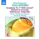 Malipiero: Symphonies, Vol 4 (CD)
