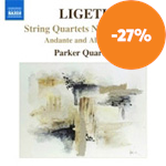 Ligeti: String Quartets Nos 1 and 2 (CD)
