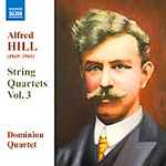 Produktbilde for Hill: String Quartets, Vol 3 (UK-import) (CD)