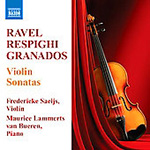 Produktbilde for Ravel; Respighi; Granados: Violin Sonatas (UK-import) (CD)
