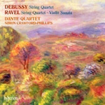 Debussy: String Quartet; Ravel: String Quartet; Violin Sonata (CD)