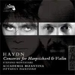 Haydn: Concertos For Harpsichord & Violin (CD)
