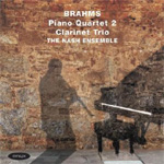 Brahms: Piano Quartet No 2; Clarinet Trio (CD)