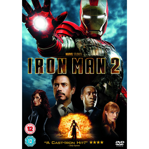Iron Man 2 (UK-import) (DVD)