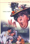 Hvem Er Earnest? - Criterion Collection (DVD - SONE 1)