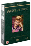 Murder, She Wrote - Sesong 11 (UK-import) (DVD)