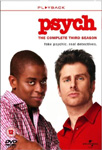 Psych - Sesong 3 (UK-import) (DVD)