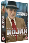 Kojak - Sesong 3 (UK-import) (DVD)