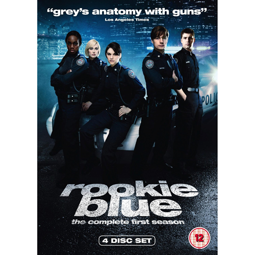 Rookie Blue - Sesong 1 (UK-import) (DVD)