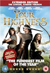 Your Highness - Extended Edition (UK-import) (DVD)