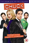 Chuck - Sesong 4 (UK-import) (DVD)