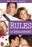 Rules Of Engagement - Sesong 2 (DVD)
