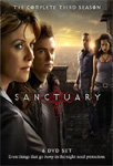Sanctuary - Sesong 3 (UK-import) (DVD)