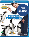 Poppers Pingviner (Blu-ray + DVD)