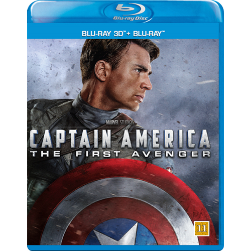 Captain America 1 - The First Avenger (Blu-ray 3D + Blu-ray)