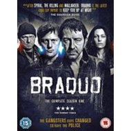 Braquo - Sesong 1 (UK-import) (DVD)