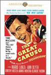 Produktbilde for The Great Caruso (DVD - SONE 1)