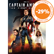 Produktbilde for Captain America 1 - The First Avenger (DVD)