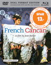 French Cancan (UK-import) (Blu-ray + DVD)