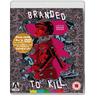 Branded To Kill (UK-import) (Blu-ray + DVD)