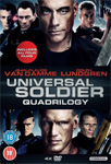 Universal Soldier Quadrilogy (UK-import) (DVD)
