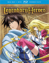 The Legend Of The Legendary Heroes: Part 1 (Blu-ray + DVD)