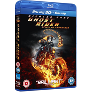 Ghost Rider 2 - Spirit Of Vengeance (UK-import) (Blu-ray 3D + Blu-ray)