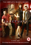 Sanctuary - Sesong 4 (UK-import) (DVD)