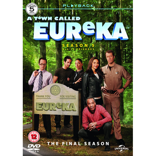 Eureka - Sesong 5 (UK-import) (DVD)
