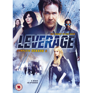 Leverage - Sesong 4 (UK-import) (DVD)