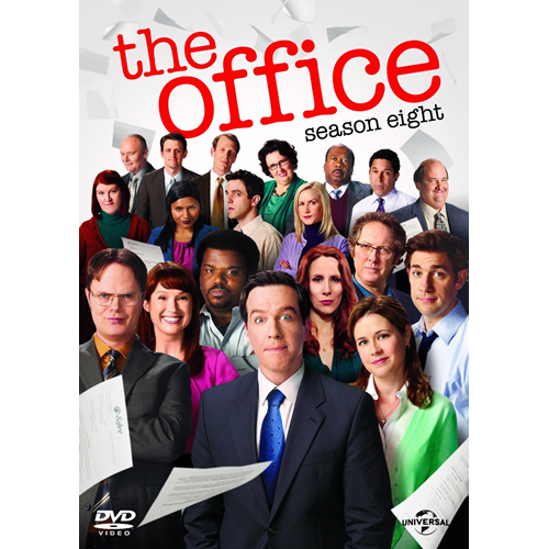 The Office (USA) - Sesong 8 (UK-import) (DVD)