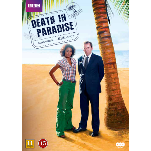 Death In Paradise / Mord I Paradis - Sesong 1 (UK-import) (DVD)