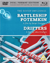 Battleship Potemkin / Drifters (UK-import) (Blu-ray + DVD)