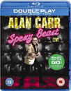Alan Carr - Sexy Beast Live (UK-import) (Blu-ray + DVD)