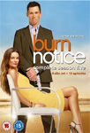 Burn Notice - Sesong 5 (UK-import) (DVD)