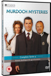 Murdoch Mysteries - Sesong 4 (UK-import) (DVD)