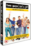 Two Guys, A Girl And A Pizza Place - Sesong 4 (UK-import) (DVD)