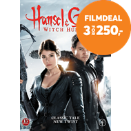 Produktbilde for Hansel & Gretel - Witch Hunters (DVD)