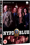 NYPD Blue - Sesong 8 (UK-import) (DVD)