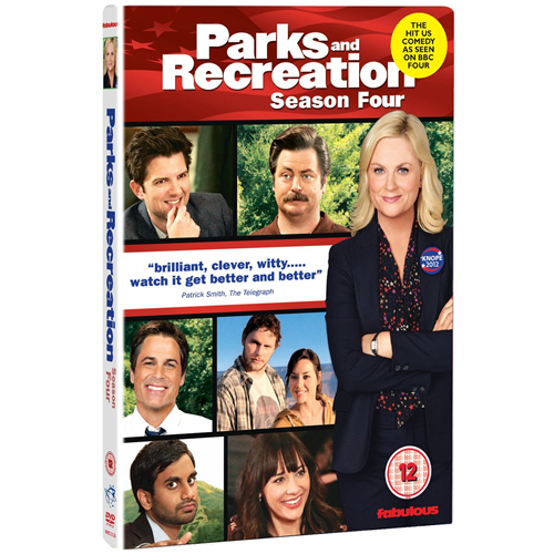 Parks And Recreation - Sesong 4 (UK-import) (DVD)