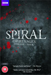 Spiral - Sesong 1 - 4 (UK-import) (DVD)