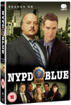 NYPD Blue - Sesong 9 (UK-import) (DVD)