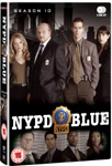 NYPD Blue - Sesong 10 (UK-import) (DVD)