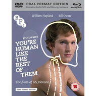 You're Human Like The Rest Of Them - The Films Of B. S. Johnson (UK-import) (Blu-ray + DVD)