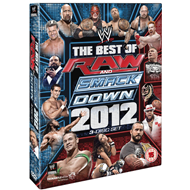 WWE - The Best Of The Raw + SmackDown 2012 (UK-import) (DVD)